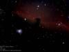 IC 434, Barnard 33 - Horsehead Nebula.